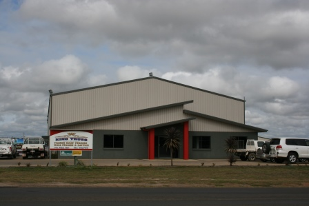 Industrial and commercial building design Kingaroy